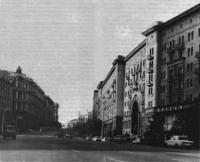 Головной участок реконструированной улицы Горького