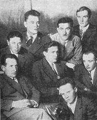 Группа инженеров — первых строителей Московского метрополитена