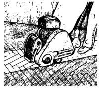 Использование циклевальной машины