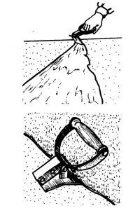 Использование отрывного прихвата