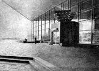 Кинотеатр Саяны. Сквозная связь пространств