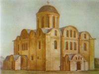 Кирилловская церковь. Реконструкция автора