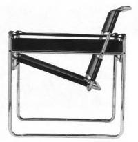 Клубное кресло. М. Брейер, 1925