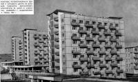 Комплекс крупнопанельных зданий и торгового центра на бульваре Толбухина