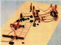 Концепция развития Берлина. Макет. О. Унгере, 1991
