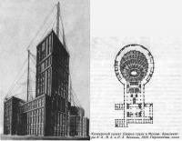 Конкурсный проект Дворца труда в Москве