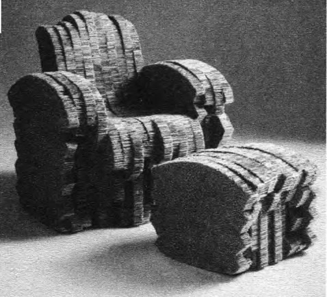 Кресло из гофрокартона. Ф. Гери