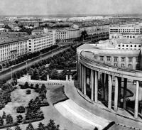 Ленинский проспект у Академии наук БССР. 1964 год