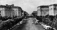 Ленинский проспект, жилые дома. Бепгоспроект