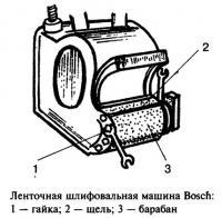 Ленточная шлифовальная машина Bosch
