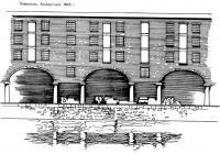 Ливерпуль. Альберт-док, 1845 г.