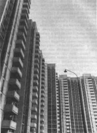 Массив домов в жилом комплексе Воронцово