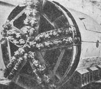 Механизированный щит ТЩБ-3 для устойчивых пород