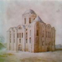 Михайловский собор Выдубецкого монастыря. Реконструкция автора