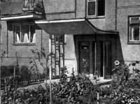 Микрорайон Зеленый луг. Фрагмент входа в жилой дом