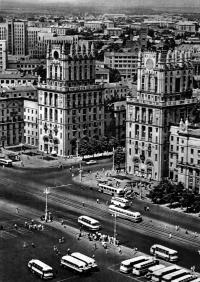 Минск с привокзальной площади