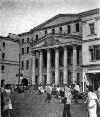 Москва. Административное здание на Петровке (бывш. Минпищепром РСФСР). 1950