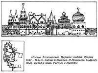 Москва. Коломенское. Царская усадьба. Дворец. 1667—1681 гг.