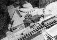 Москва. Культурно-просветительный центр им. В. Высоцкого, Дипломный проект