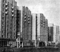 Москва. Застройка Тулинской улицы