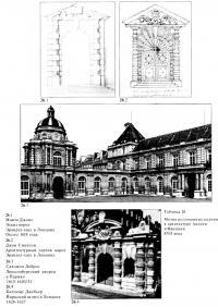 Мотив рустованных колонн в архитектуре Англии и Франции XVII века