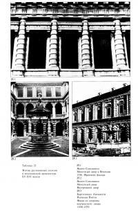 Мотив рустованных колонн в итальянской архитектуре XV-XVI веков