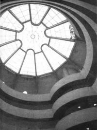 Музей Гугенхейма. Перекрытие атриума. Ф.Л. Райт, 1943—1959