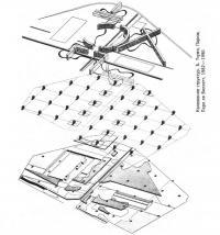 Наложение структур. Б. Тчуми, Париж, Парк ля Виллетт, 1982—1990