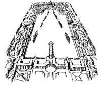 Новый Версаль. Аркада на воде. С рис. архитектора Р. Бофилла