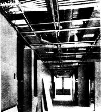 Оборудование, расположенное в перекрытиях и стенах