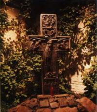 Освещение мемориального креста в Сретенском монастыре
