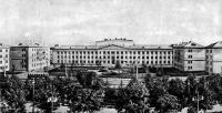 Панорама застройки у киностудии «Беларусьфильм». 1955 год