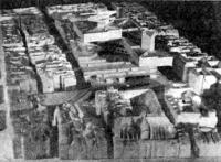Париж. Центр Современного искусства (Бобур). Международный конкурс. Проект 1971 г. Макет
