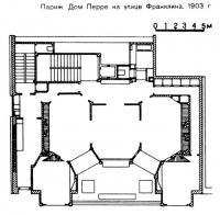 Париж. Дом Перре на улице Франклина, 1903 г