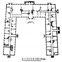 План дома Тизенгауза