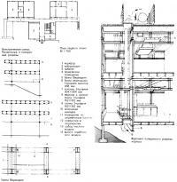 План этажа и чертежи элементов