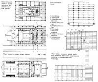 План этажа и схема здания