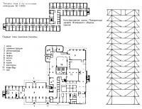 План этажей гостиницы