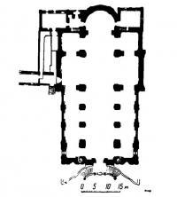 План Иезуитского костела