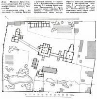 План Михайло-Архангельского монастыря