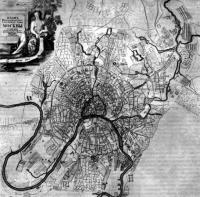 План Москвы 1737 г. Архитектор И. Мичурин