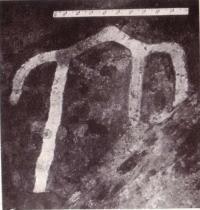 План предполагаемой трехнефной постройки. Раскопки С. Р. Килиевич у Десятинной церкви