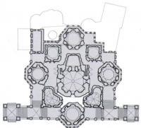 План-схема Покровского собора