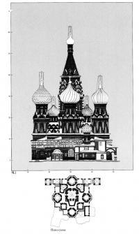 План-схема восточного фасада