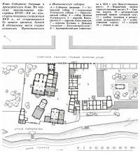 План Соборного дворища и Архиерейского дома