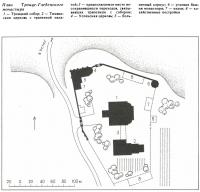 План Троице-Гледенекого монастыря
