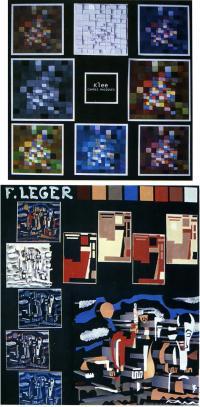 Пластическая интерпретация Магических квадратов П. Клее