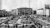Площадь Якуба Коласа. 1963 год