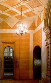 Плоское кирпичное перекрытие в Покровском соборе