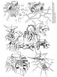 Поиск образа архитектурных объектов заимствованием качеств из других форм жизни